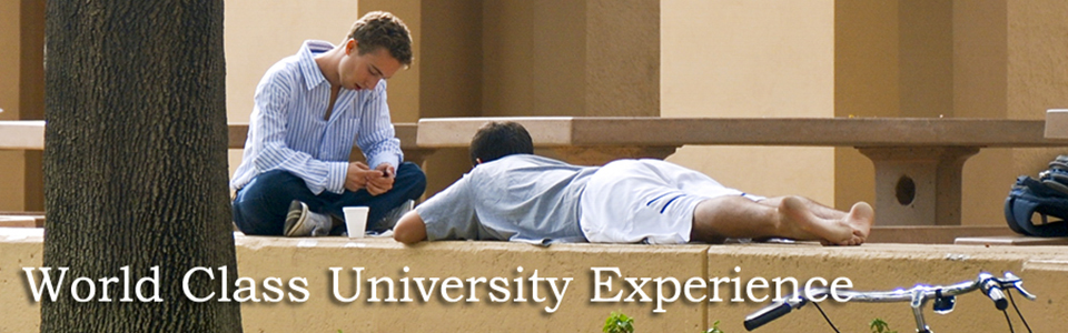 World Class University Experience
